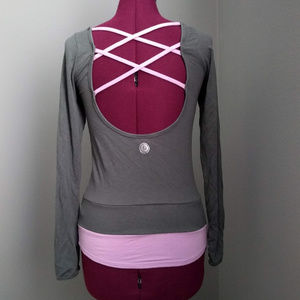Pure Barre by Splits59 Hydra Long Sleeve Pullover